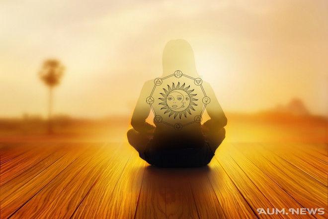 Медитация на солнце